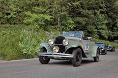 克莱斯勒75日(1929)在Mille Miglia 2016年 免版税库存图片