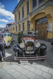 1928年克莱斯勒4门敞篷车 免版税库存图片