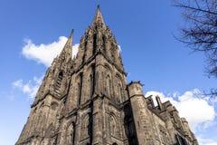 克莱蒙费朗大教堂  库存照片