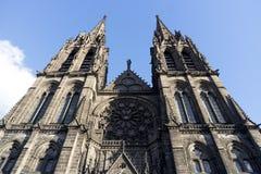 克莱蒙费朗大教堂  库存图片