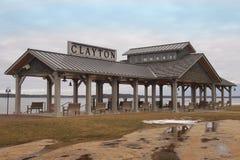 克莱顿眺望台 免版税库存照片