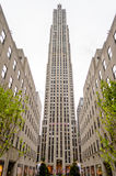 洛克菲勒中心,纽约城 免版税库存图片