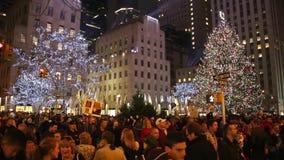 洛克菲勒圣诞树-纽约