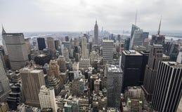 从洛克菲勒的纽约视图 库存照片