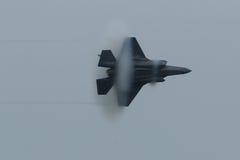 洛克西德・马丁F-35闪电II 免版税库存照片