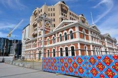 克赖斯特切奇中央邮局-新西兰 图库摄影