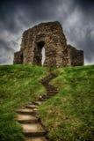 克赖斯特切奇城堡 库存图片