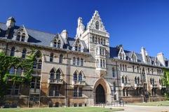 克赖斯特切奇学院在牛津大学-牛津,英国 库存照片