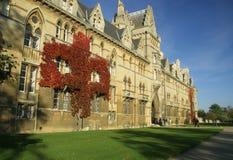 克赖斯特切奇学院牛津 免版税库存图片