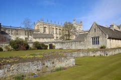 克赖斯特切奇学院,牛津 免版税库存照片