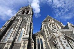 克赖斯特切奇新西兰 免版税库存照片