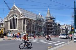 克赖斯特切奇艺术中心-新西兰 库存照片