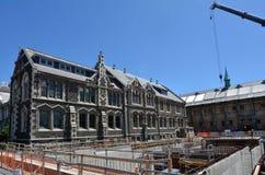 克赖斯特切奇艺术中心-新西兰 免版税图库摄影