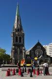 克赖斯特切奇-新西兰 免版税库存图片