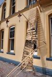 克赖斯特切奇cokers损坏地震旅馆 免版税库存照片
