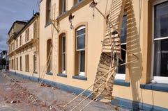克赖斯特切奇cokers故障地震旅馆 免版税库存图片