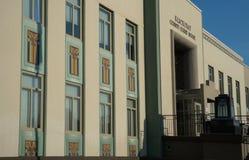 克里基塔特县法院大楼在Goldendale,华盛顿 库存图片