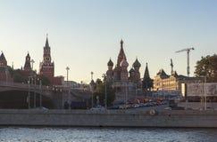 克里姆林宫和红场在莫斯科 免版税图库摄影