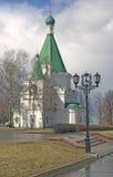 克里姆林宫在下诺夫哥罗德,俄罗斯 迈克尔天使大教堂 免版税库存图片