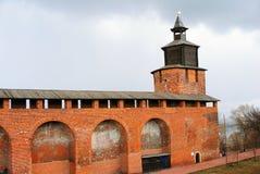 克里姆林宫在下诺夫哥罗德,俄罗斯 免版税库存图片