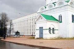 克里姆林宫在下诺夫哥罗德,俄罗斯 库存照片