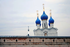 克里姆林宫在罗斯托夫,俄罗斯 免版税库存照片