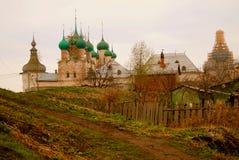 克里姆林宫在罗斯托夫,俄罗斯 免版税库存图片