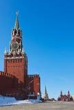 克里姆林宫在莫斯科(俄国) 免版税库存照片