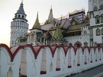 克里姆林宫在Izmailovo (俄国化合物)莫斯科 免版税图库摄影
