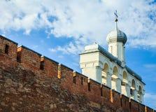 克里姆林宫在Veliky诺夫哥罗德 免版税库存图片