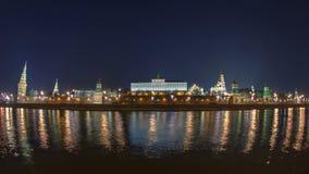 克里姆林宫堤防-近莫斯科河堤防 股票录像