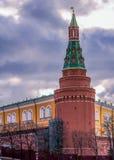 克里姆林宫塔在莫斯科 库存图片
