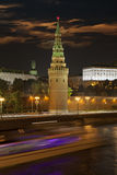 克里姆林宫塔 莫斯科俄国 免版税库存图片