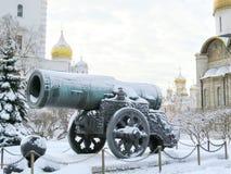 克里姆林宫极大的大炮  库存图片