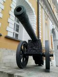 克里姆林宫武库枪& x28; cannon& x29;在莫斯科,俄罗斯 图库摄影
