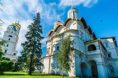 克里姆林宫游览12 :十二位传道者的教会  图库摄影