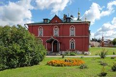 克里姆林宫的假定教会的餐厅在Kolomna 免版税图库摄影