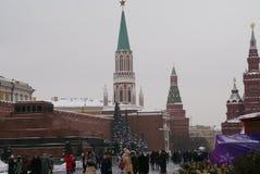 克里姆林宫的看法和莫斯科的历史中心 图库摄影