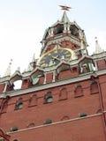 克里姆林宫的Spasskaya塔 库存照片