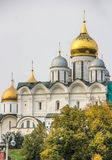 克里姆林宫码头在莫斯科 库存照片