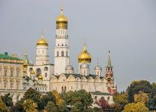 克里姆林宫码头在莫斯科 库存图片