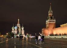 克里姆林宫红色俄国广场 库存图片