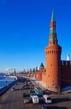 克里姆林宫莫斯科俄国冬天 免版税库存照片