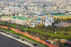 克里姆林宫莫斯科俄国 免版税库存图片