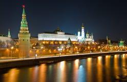 克里姆林宫莫斯科俄国 库存照片