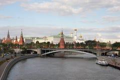克里姆林宫莫斯科俄国 免版税图库摄影