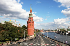 克里姆林宫莫斯科俄国 库存图片