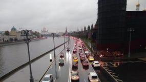 克里姆林宫莫斯科河 库存图片