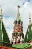 克里姆林宫莫斯科的Spasskaya毛巾2007年 库存照片