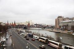 克里姆林宫莫斯科视图 免版税库存图片